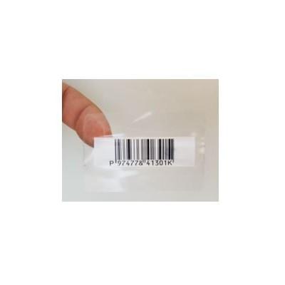 Etiquette AM - Papillon Faux Barrecode