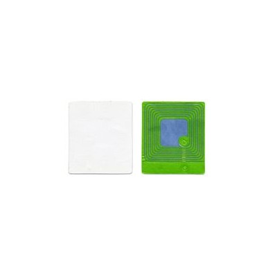 Etiquette RF 8,2 Mhz 30x40 mm BLANCHE - Désactivable