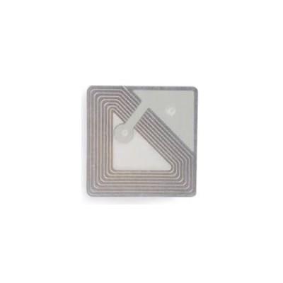 Etiquette RF 8,2 Mhz 25x25 mm TRANSPARENTE - Désactivable