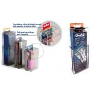 Boîtier Antivols extensible complètement fermé ( spécial préservatifs, etc) CSMS
