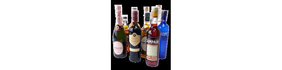 """Protections Alcools et spiritueux & Champagne """"Haute sécurité"""" avec double verrouillage."""